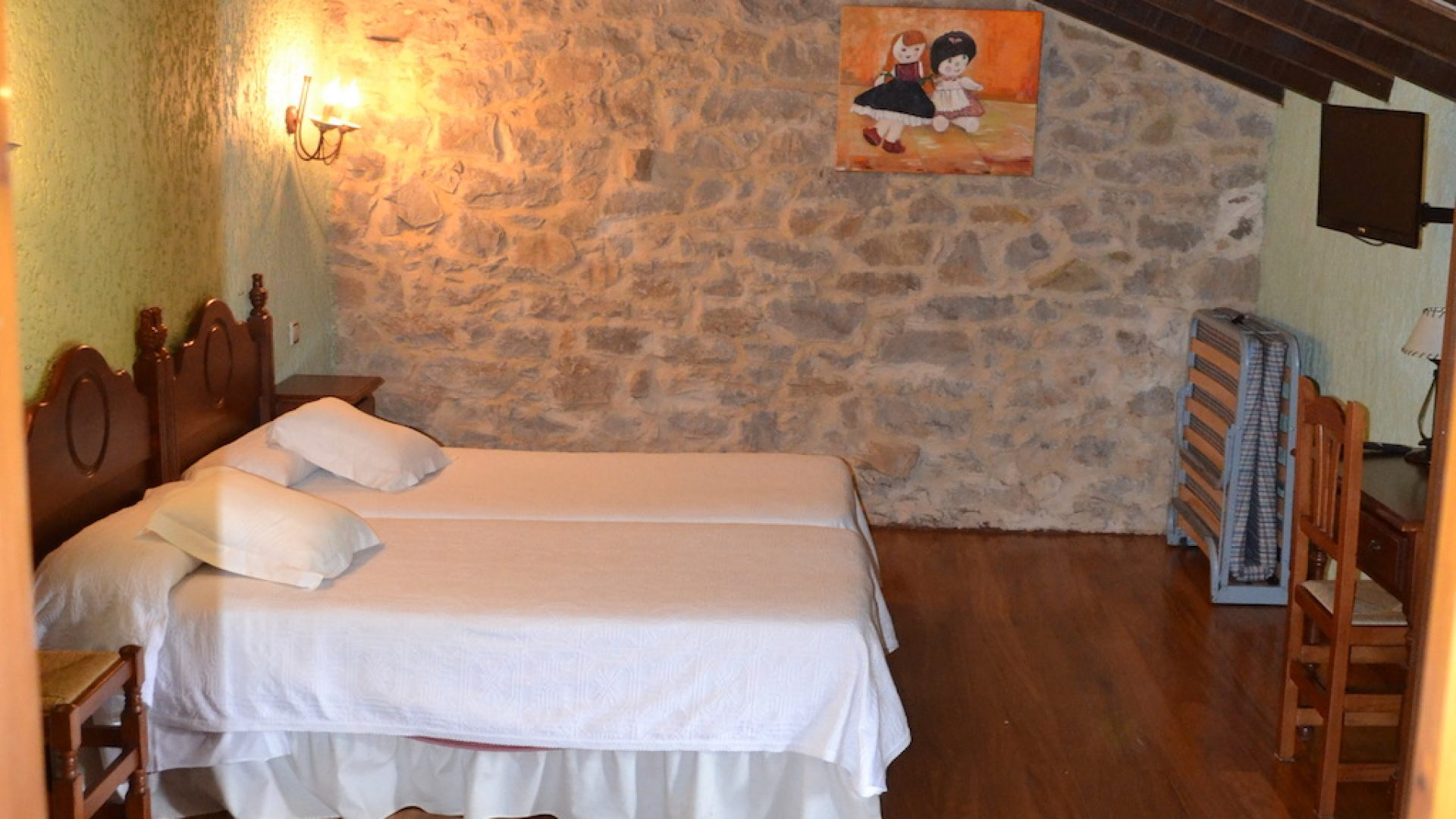 2 camas individuales + Supletorias